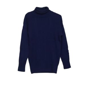 Ross Disera Blue Cashmere & Wool Sweater